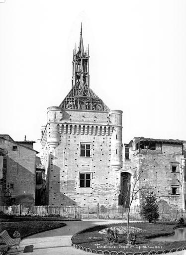 Hôtel de Ville appelé Le Capitole Façade, Mieusement, Médéric (photographe),
