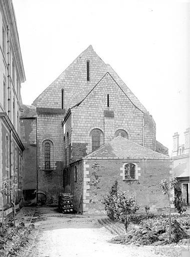 Abbaye Saint-Serge (ancienne) Eglise, abside, Durand, Eugène (photographe),