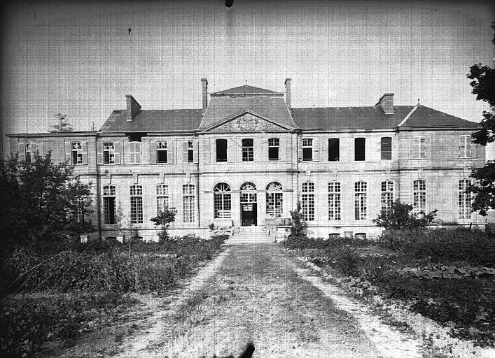 Evêché  (ancien) Façade ouest, Service photographique,