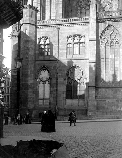 Cathédrale Notre-Dame Fenêtres, Chaine, Henri (architecte),