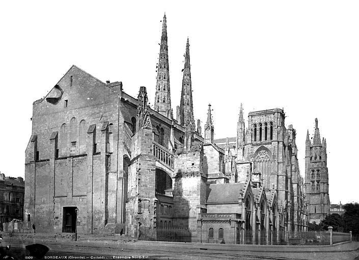 Cathédrale Saint-André Ensemble nord-est, Durand, Eugène (photographe),