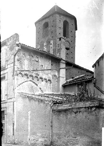 Eglise Clocher, Enlart, Camille (historien),