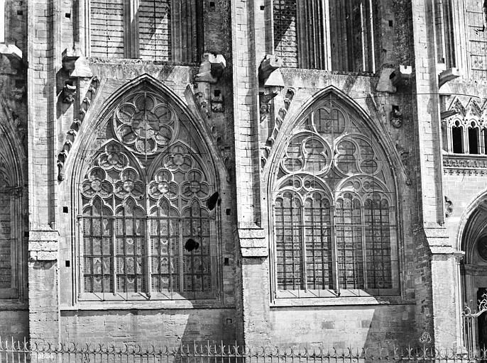 Cathédrale Notre-Dame Façade sud : fenêtres du bas-côté, Mieusement, Médéric (photographe),