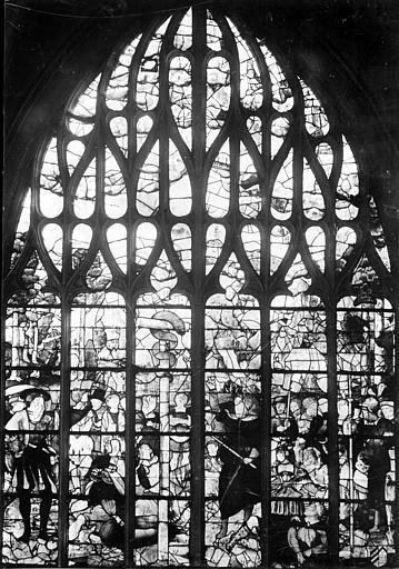 Eglise Notre-Dame Vitrail, Pavie,