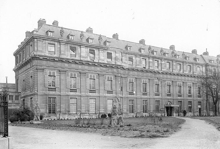 Château de Vincennes Bâtiment Louis XIV : ensemble, Durand, Jean-Eugène (photographe),