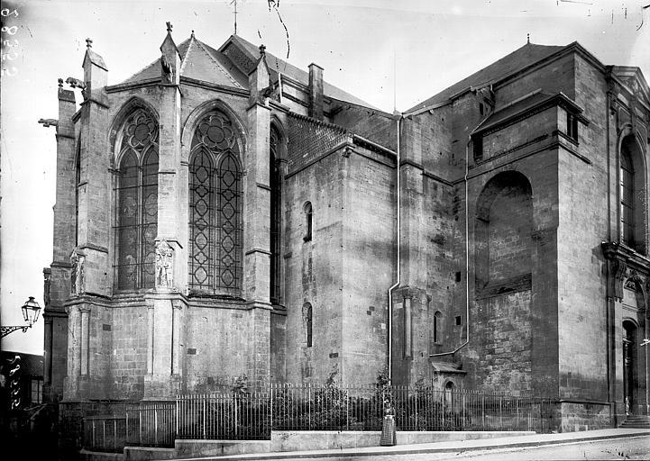 Cathédrale Notre-Dame-de-l'Assomption Abside au nord, Enlart, Camille (historien),