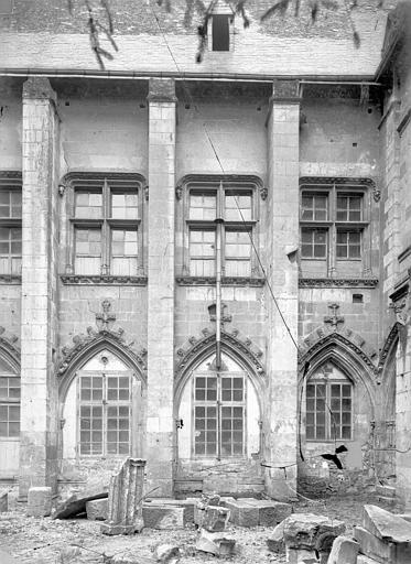 Cathédrale Saint-Gatien Cloître : travées, ,