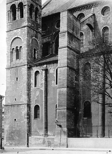 Eglise Saint-Remi Nef, face sud, Durand, Eugène (photographe),