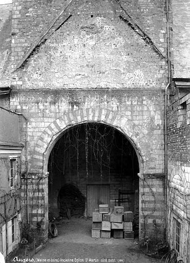 Collégiale Saint-Martin (ancienne) Portail ouest, Mieusement, Médéric (photographe),