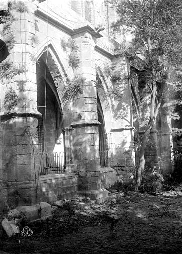 Cathédrale Saint-Nazaire (ancienne) Cloître, partie extérieure, ,
