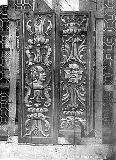 Palais de Justice Clôture de chœur de la chapelle du Saint-Esprit, Bourgogne, L. (photographe),