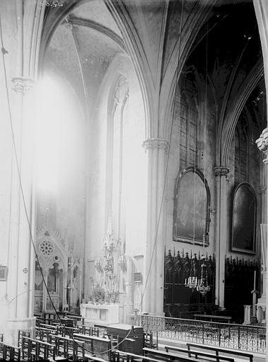 Eglise Saint-Jean de Malte Croisée du transept, Enlart, Camille (historien),