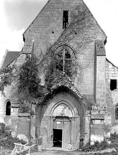 Eglise Façade ouest, Chaine, Henri (architecte),