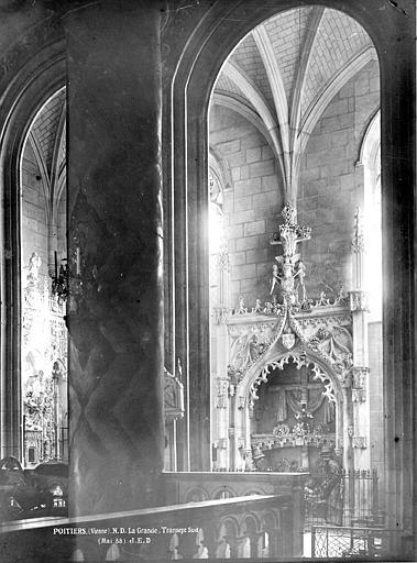 Eglise Notre-Dame-la-Grande Transept sud, chapelle, Durand, Eugène (photographe),