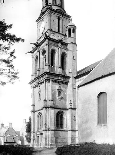 Eglise Saint-Patrice Clocher, Durand, Jean-Eugène (photographe),