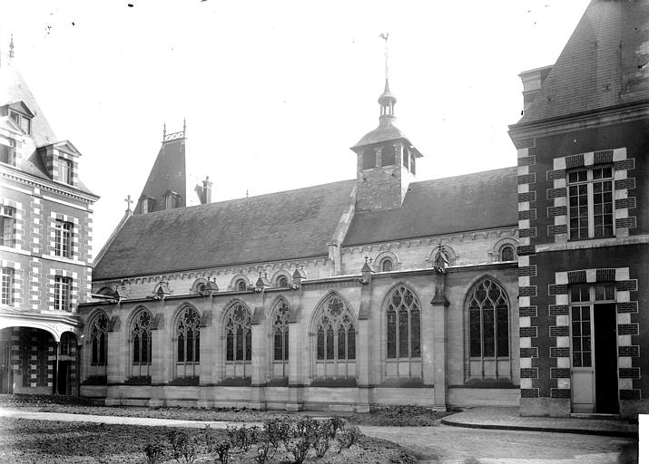 Eglise Saint-Lô Portail, Enlart, Camille (historien),