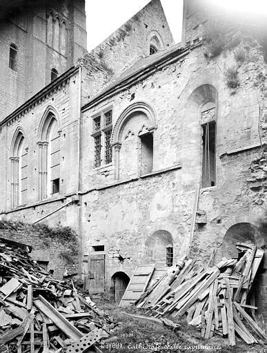 Cathédrale Notre-Dame Salle capitulaire : façade extérieure, Mieusement, Médéric (photographe),