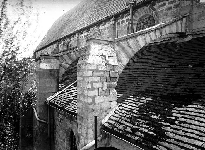 Eglise Contrefort sud, Durand, Eugène (photographe),