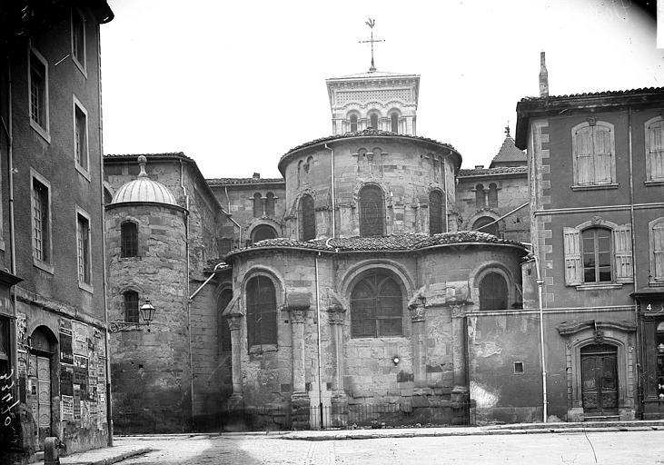 Cathédrale Saint-Apollinaire Abside, Enlart, Camille (historien),