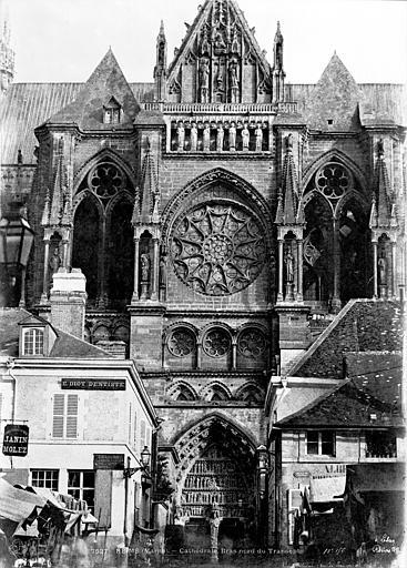 Cathédrale Notre-Dame Transept nord, Le Secq, Henri (photographe),