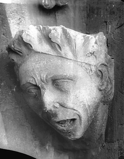 Cathédrale Notre-Dame Tête d'amortissement, Lajoie, Abel,