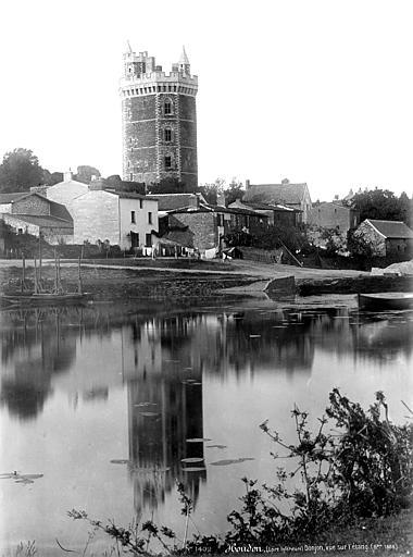Château Tour, prise de l'étang, Mieusement, Médéric (photographe),