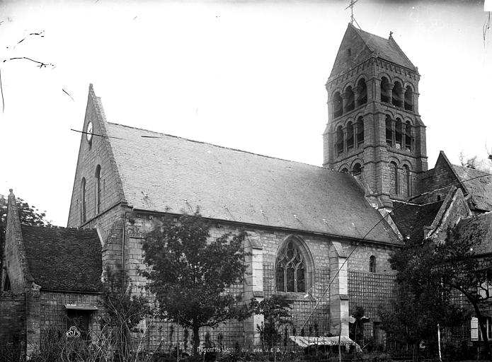 Eglise de Nogent-les-Vierges Ensemble sud, Durand, Eugène (photographe),
