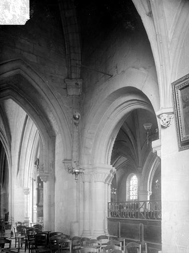 Eglise Saint-Michel-de-Vaucelles Vue intérieure du clocher, Heuzé, Henri (photographe),