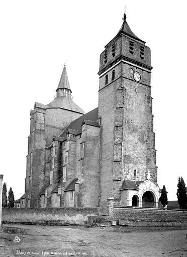 Eglise paroissiale Ensemble nord-ouest, Mieusement, Médéric (photographe),