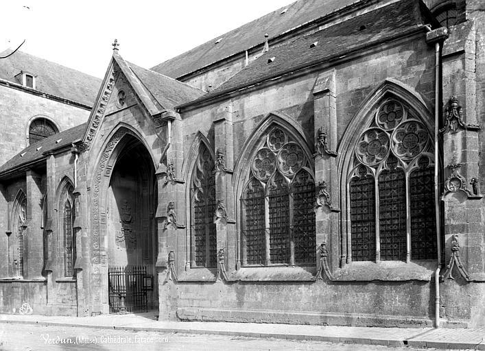 Cathédrale Notre-Dame-de-l'Assomption Façade nord : partie centrale, Mieusement, Médéric (photographe),