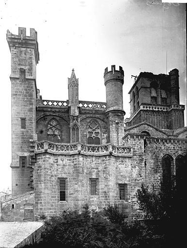 Cathédrale Saint-Nazaire Façade sud, Enlart, Camille (historien),
