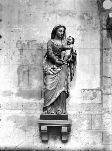 Eglise Sainte-Radegonde , Gossin (photographe),