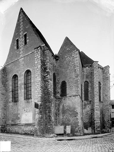 Eglise Façade sud : Transept et abside, Heuzé, Henri (photographe),