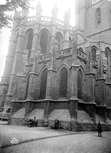 Cathédrale Saint-Nazaire (ancienne) Abside, ,