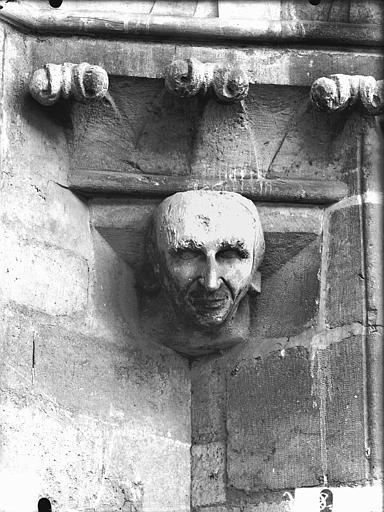 Cathédrale Notre-Dame Tour sud, tête d'amortissement, Lajoie, Abel,