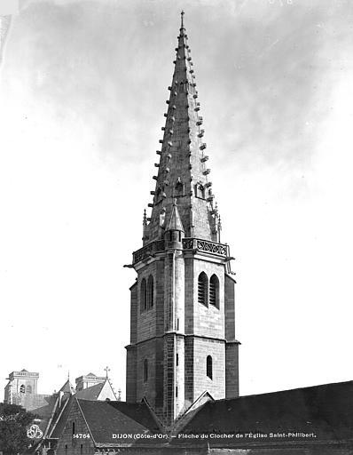 Eglise Saint-Philibert (ancienne) Clocher, Neurdein (frères) ; Neurdein, Louis ; Neurdein, Louis (photographe),