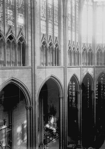 Cathédrale Notre-Dame Triforium, Enlart, Camille (historien),