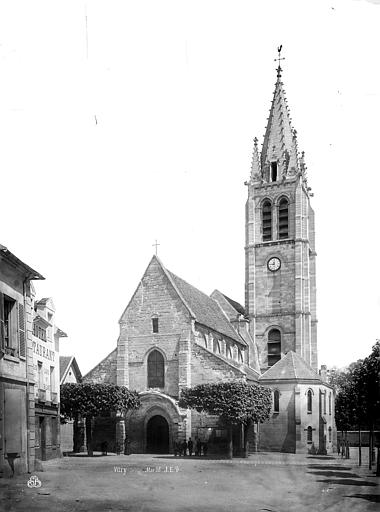 Eglise Saint-Germain Façade ouest, Durand, Eugène (photographe),
