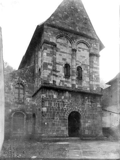 Eglise Notre-Dame Façade, Enlart, Camille (historien),
