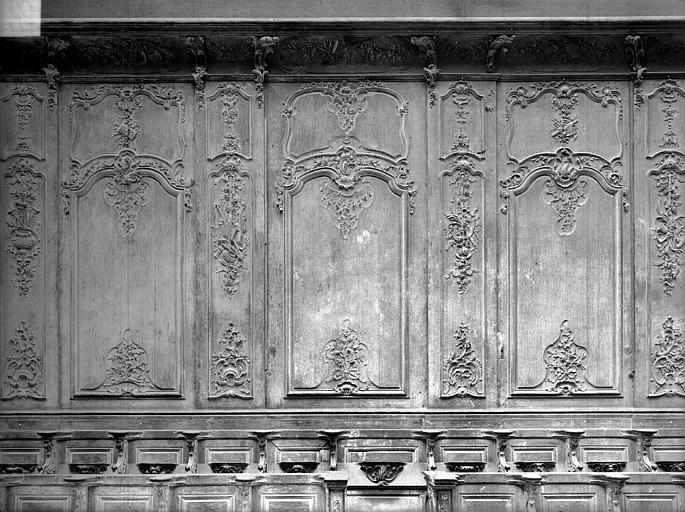Cathédrale Notre-Dame-de-l'Assomption Stalles, trois travées, nord, Heuzé, Henri (photographe),