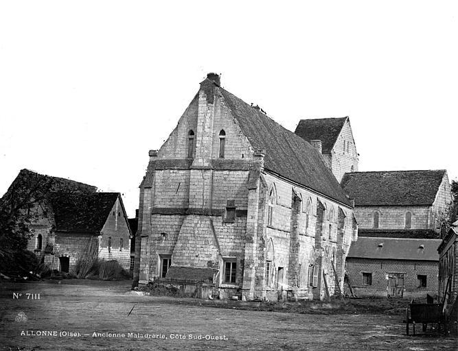Maladrerie Le côté sud-ouest, Durand, Eugène (photographe),