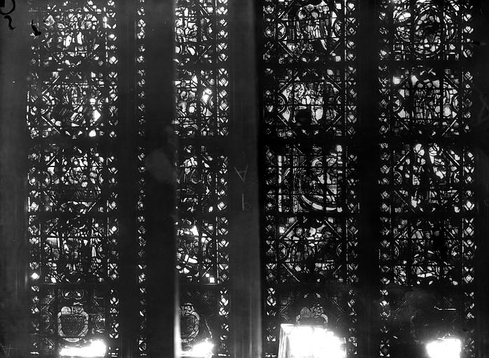 Cathédrale Notre-Dame Chapelles du choeur, vitrail Q', Gaudin,