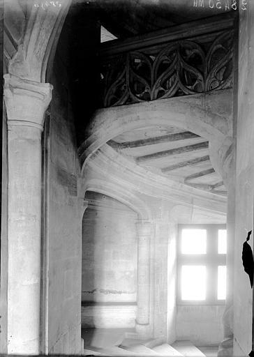 Palais Ducal (ancien) Cage d'escalier, Enlart, Camille (historien),