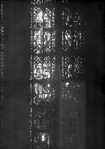 Cathédrale Notre-Dame Chapelles du choeur, vitrail B', Gaudin,