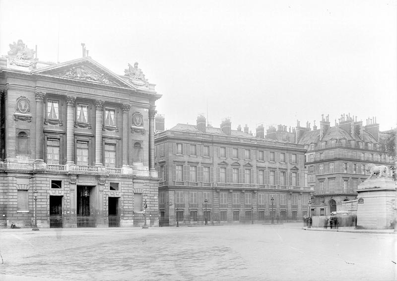 Hôtel Saint-Florentin (ancien) ; Hôtel de Talleyrand ; Consulat des Etats-Unis , Durand, Eugène (photographe),
