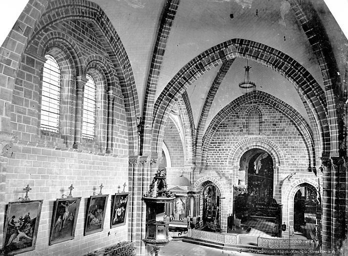 Cathédrale de la Trinité Vue intérieure de la nef, vers le nord-est, prise de la tribune, Mieusement, Médéric (photographe),