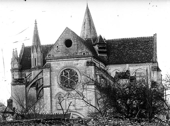 Eglise Saint-Lucien Façade nord : Transept, Durand, Eugène (photographe),