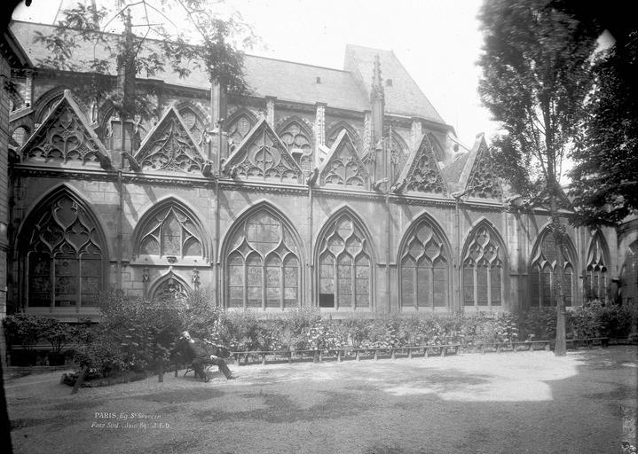 Eglise Saint-Séverin Côté sud, Durand, Eugène (photographe),