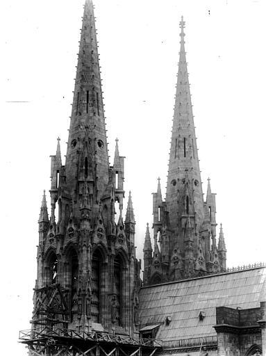 Cathédrale Notre-Dame Clochers, Durand, Eugène (photographe),