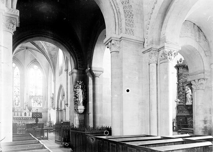 Abbaye de Graville-Sainte-Honorine (ancienne) Choeur, Enlart, Camille (historien),